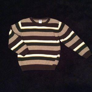 Gymboree Boys 5T Striped Sweater Like New